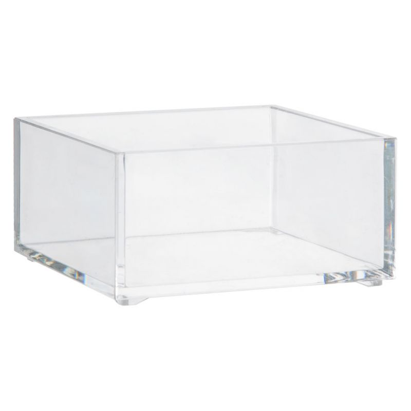 Rangement Maquillage Transparent