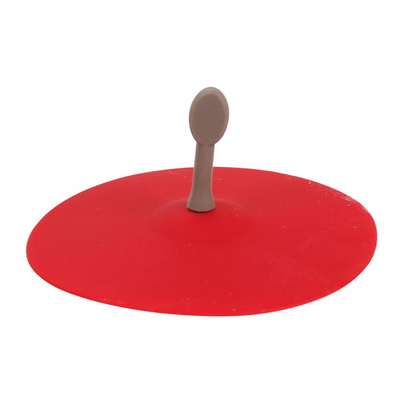 10x3 Bouchon 8cm D'évier Silicone Rouge b76gYfyv