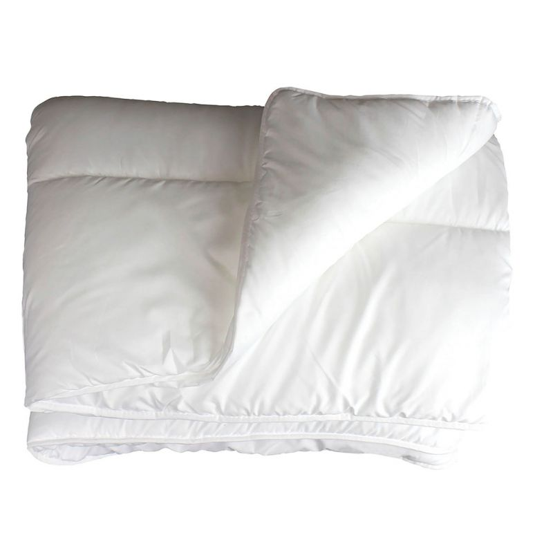 Couette 1 personne polyester anti acariens