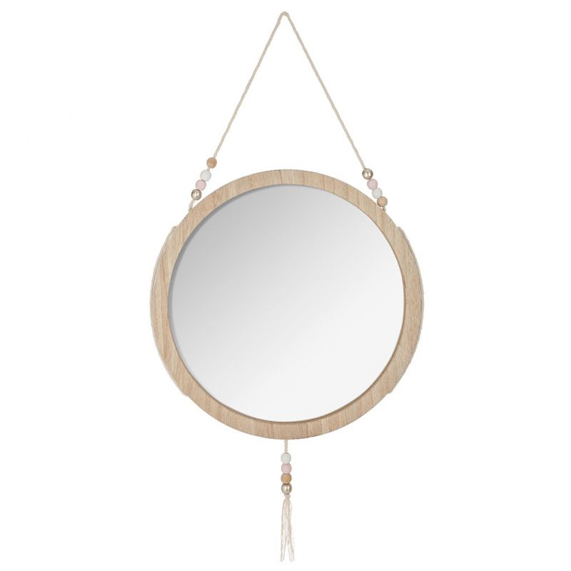 miroir rond bois awesome miroir rond bois white wash cm with miroir rond bois miroir rond avec. Black Bedroom Furniture Sets. Home Design Ideas