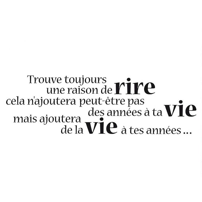 Citation Rire Vie