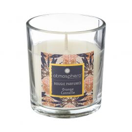 Bougie parfumée orange cannelle 110 gr