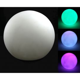 Boule lumineuse LED multicolore D 7cm