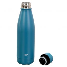 Bouteille isotherme inox bleu 50cl