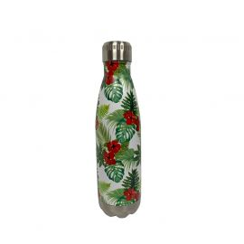 Bouteille isotherme inox TROPICAL 50cl