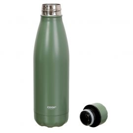 Bouteille isotherme inox vert 50cl
