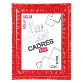 Cadre photo DANDY rouge 13x18cm