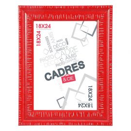 Cadre photo DANDY rouge 18x24cm