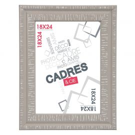 Cadre photo DANDY taupe 13x18cm