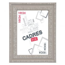 Cadre photo DANDY taupe 18x24cm