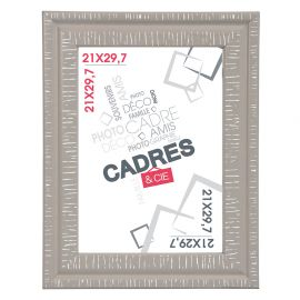 Cadre photo DANDY taupe 21x29.7cm