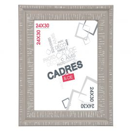 Cadre photo DANDY taupe 24x30cm