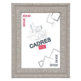 Cadre photo DANDY taupe 30x40cm