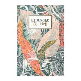 Carnet de notes 6 blocs jungle 15x20cm