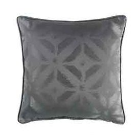 Coussin carré polyester MAJESTIC anthracite 60x60cm