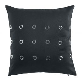 Coussin déco polyester DROM anthracite 40x40cm