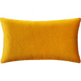 Coussin DOLCE velours ocre 38x58cm