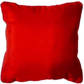 Coussin polyester ESSENTIEL rouge 60x60cm