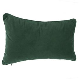 Coussin polyester lilou vert 30x50cm