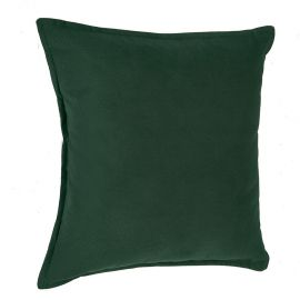 Coussin polyester lilou vert 45x45cm