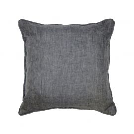 Coussin polyester NEWTON anthracite 40x40cm