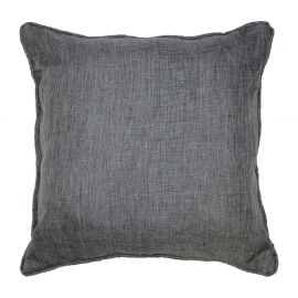 Coussin polyester NEWTON anthracite 60x60cm