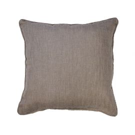 Coussin polyester NEWTON lin 40x40cm