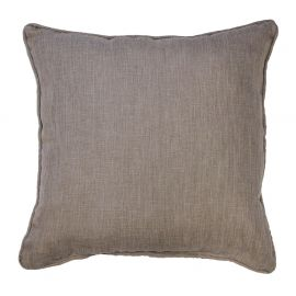 Coussin polyester NEWTON lin 60x60cm