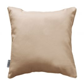 Coussin polyester passepoil ESSENTIEL lin 40x40cm