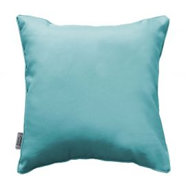 Coussin polyester passepoil ESSENTIEL menthe 40x40cm