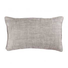 Coussin rectangulaire polyester CHAMBRAY lin 30x50cm
