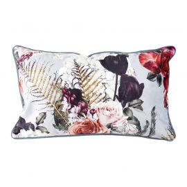 Coussin rectangulaire polyester romance 30x50cm
