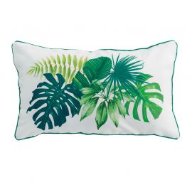 Coussin rectangulaire polyester SANYA BAY blanc 30x50cm