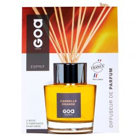 Diffuseur de parfum Esprit Cannelle orange 200ml - GOA