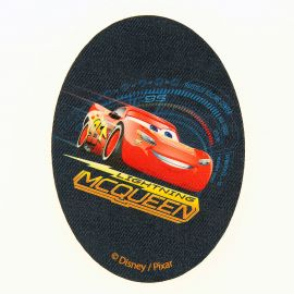 Ecusson thermocollant Cars 3.5x11cm