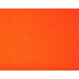 Feuille de papier crépon orange 50x200cm