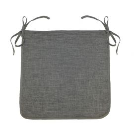 Galette de chaise polyester NEWTON anthracite 40x40cm