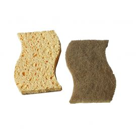 Lot de 2 éponges fibres naturelles