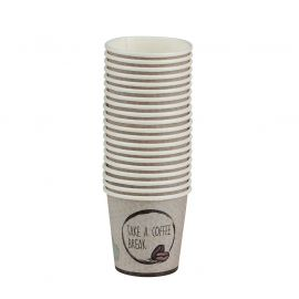 Lot de 20 tasses à café 12cl carton