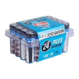 Lot de 24 piles LR06 alcaline XLPOWER