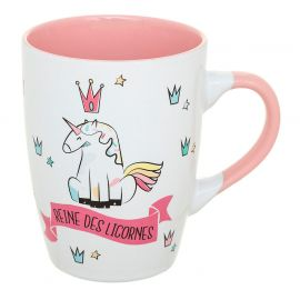 Mug conique licorne 30cl