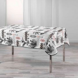 Nappe rectangulaire polyester cocotiers 150x240cm
