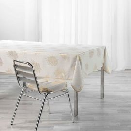 Nappe rectangulaire SUNNY GOLD polyester 145x240cm