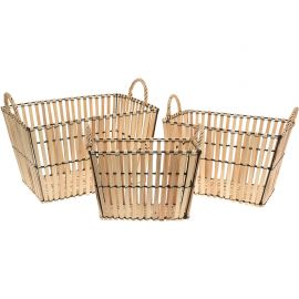 Panier rectangle peuplier 39x29x23cm
