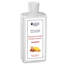 Parfum pour lampe Berger Orange Cannelle 500ml- MAISON BERGER