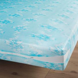Rénove matelas polyester maille extensible RENA 140x190cm
