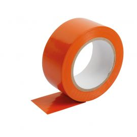 Ruban adhésif PVC ultra résistant orange 48mm x 25m
