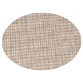 Set de table ovale TEXAL naturel 48x35cm