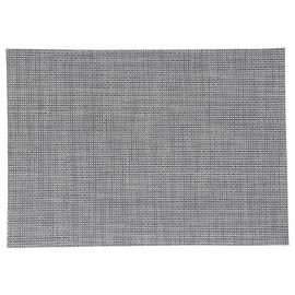 Set de table rectangulaire TEXAL gris 48x35cm