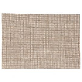 Set de table rectangulaire texaline beige 48x35cm